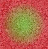 Abstrakcjonistyczny kędzierzawy deseniowy tendril Fotografia Stock