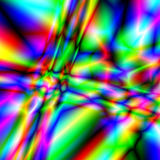 abstrakcjonistyczny kalejdoskop Obraz Royalty Free