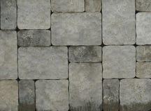 Abstrakcjonistyczny kamiennej ściany kamieniarstwo Fotografia Royalty Free