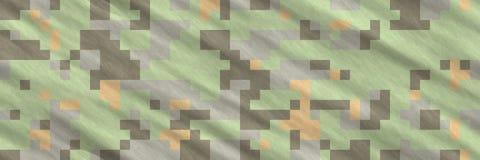 Abstrakcjonistyczny kamuflażu wzór zdjęcia stock