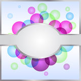 abstrakcjonistyczny karciany kolorowy Zdjęcie Stock