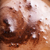 Abstrakcjonistyczny kawy piany tło Obrazy Stock