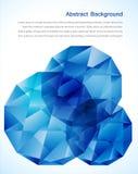 abstrakcjonistyczny klejnot i błękita lód ilustracji