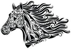abstrakcjonistyczny koń Fotografia Royalty Free
