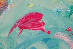 abstrakcjonistyczny koi Zdjęcie Royalty Free