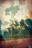Abstrakcjonistyczny kolaż Zdjęcia Stock