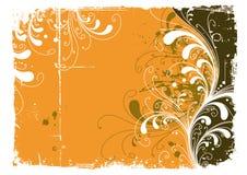 abstrakcjonistyczny kolor żółty Zdjęcia Stock