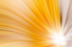 Abstrakcjonistyczny kolor żółty wygina się tło royalty ilustracja