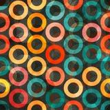 Abstrakcjonistyczny kolor dzwoni bezszwowego Zdjęcia Stock