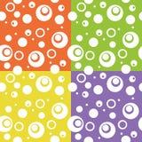 Abstrakcjonistyczny kolor zabawy okręgu tło Fotografia Royalty Free