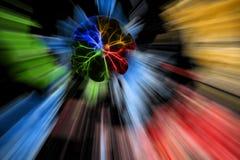 abstrakcjonistyczny kolorowy Obrazy Royalty Free