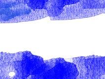 Abstrakcjonistyczny Kolorowy akwarela obrazu tło, Kolorowy szczotkarski tło Zdjęcie Stock