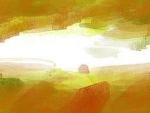 Abstrakcjonistyczny Kolorowy akwarela obrazu tło, Kolorowy szczotkarski tło Zdjęcia Stock