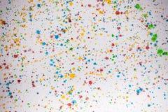 Abstrakcjonistyczny kolorowy akwareli ręki farby pluśnięcia tło Fotografia Royalty Free