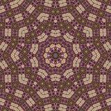 Abstrakcjonistyczny kolorowy bezszwowy deseniowy kalejdoskop robić od circu Zdjęcia Stock
