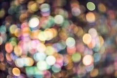 Abstrakcjonistyczny kolorowy bokeh Obraz Royalty Free