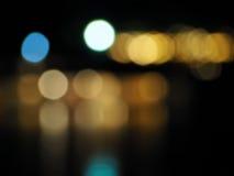 Abstrakcjonistyczny kolorowy bokeh i rozmyty tło Zdjęcia Royalty Free
