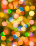 Abstrakcjonistyczny kolorowy bokeh tło Obraz Royalty Free