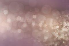 Abstrakcjonistyczny kolorowy defocused kółkowy facula, abstrakcjonistyczny tło Zdjęcie Royalty Free