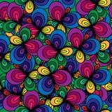 abstrakcjonistyczny kolorowy deseniowy bezszwowy Zdjęcie Stock
