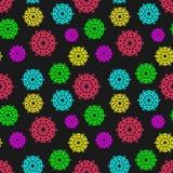abstrakcjonistyczny kolorowy deseniowy bezszwowy Może używać w backgroun ilustracji