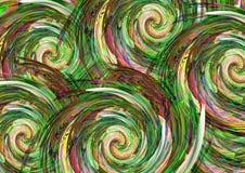Abstrakcjonistyczny kolorowy deseniowy tło projekt Kartka z pozdrowieniami prezenta i projekta karty zdjęcia stock