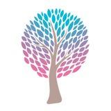 abstrakcjonistyczny kolorowy drzewo również zwrócić corel ilustracji wektora Fotografia Royalty Free