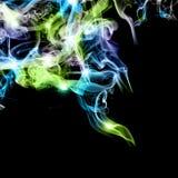 abstrakcjonistyczny kolorowy dym Zdjęcie Royalty Free