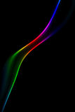 Abstrakcjonistyczny kolorowy dym Fotografia Stock
