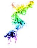 abstrakcjonistyczny kolorowy dym Zdjęcie Stock