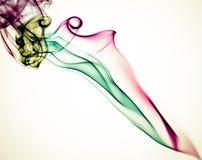 Abstrakcjonistyczny kolorowy dymny tło Obraz Royalty Free