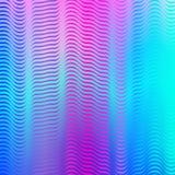 Abstrakcjonistyczny kolorowy geometryczny technologii tło z gradientową siatką ilustracji