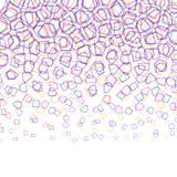 Abstrakcjonistyczny kolorowy geometryczny wzór Fotografia Royalty Free