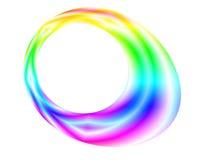 Abstrakcjonistyczny kolorowy jajko Fotografia Royalty Free