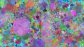 Abstrakcjonistyczny Kolorowy kropki tło royalty ilustracja