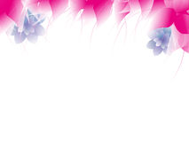 Abstrakcjonistyczny kolorowy kwiecisty tło. Zdjęcia Royalty Free