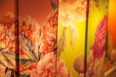 Abstrakcjonistyczny kolorowy lampion Zdjęcia Stock