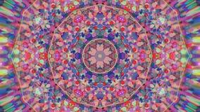 Abstrakcjonistyczny Kolorowy Malujący Kalejdoskopowy Graficzny tło Futurystyczny Psychodeliczny Hipnotyczny tło wzór Z teksturą Zdjęcie Stock