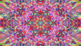 Abstrakcjonistyczny Kolorowy Malujący Kalejdoskopowy Graficzny tło Futurystyczny Psychodeliczny Hipnotyczny tło wzór Z teksturą Obraz Stock