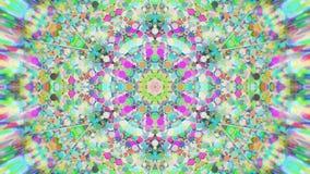 Abstrakcjonistyczny Kolorowy Malujący Kalejdoskopowy Graficzny tło Futurystyczny Psychodeliczny Hipnotyczny tło wzór Z teksturą Zdjęcia Stock