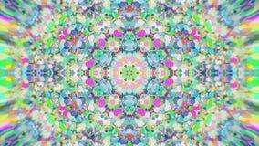 Abstrakcjonistyczny Kolorowy Malujący Kalejdoskopowy Graficzny tło Futurystyczny Psychodeliczny Hipnotyczny tło wzór Z teksturą Obraz Royalty Free
