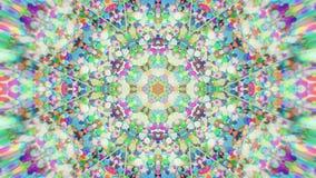 Abstrakcjonistyczny Kolorowy Malujący Kalejdoskopowy Graficzny tło Futurystyczny Psychodeliczny Hipnotyczny tło wzór Z teksturą Fotografia Stock
