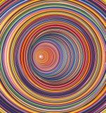 Abstrakcjonistyczny kolorowy okręgu tło ilustracja wektor