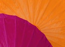 Abstrakcjonistyczny kolorowy parasolowy tło Obraz Royalty Free