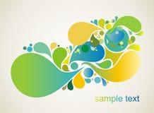 abstrakcjonistyczny kolorowy projekt ilustracja wektor