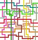 abstrakcjonistyczny kolorowy projekt royalty ilustracja