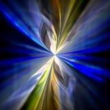 Abstrakcjonistyczny kolorowy promień światła tło. Fotografia Stock