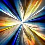 Abstrakcjonistyczny kolorowy promień światła tło. Zdjęcie Royalty Free