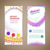 Abstrakcjonistyczny kolorowy round skład Fotografia Stock