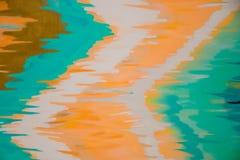 Abstrakcjonistyczny kolorowy stubarwny niezwykły tło obraz royalty free